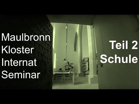 Maulbronn Kloster Seminar Internat Teil 2 Schule (Inside)