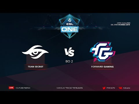 [RU] Team Secret vs Forward Gaming | bo2 | ESL One Katowice 2019 by @Tekcac