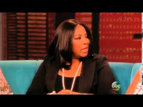LaTanya Richardson talks on the VIEW show