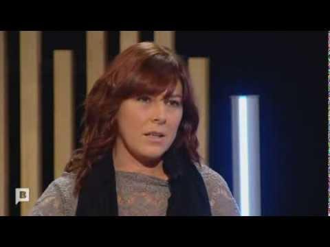 Magda Bandera, coordinadora de La Marea, en el programa 'Terrícoles', de Barcelona TV (en català)