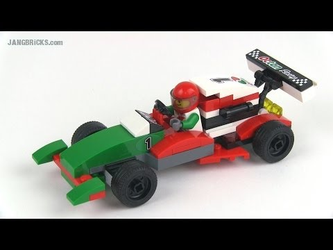 LEGO 60053 Race Car alternate build MOC - JANGBRiCKS Remix! - YouTube