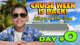 NEW CRUISE ADVENTURE!!! DAY #0 - Get Me To The Ship on Time!