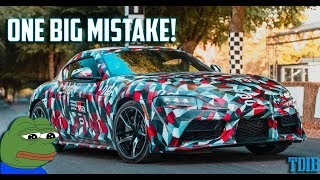 The 2019 Toyota Supra is Set to Fail and Has One Main Problem (Not The BMW Engine)