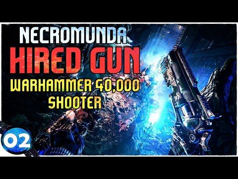 Necromunda: Hired Gun Deutsch 🔵 Spiel gepatched, das Savegame gerettet (02)