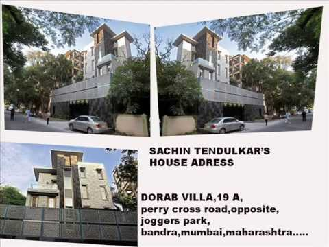 Sachin Tendulkar House Home Complete Adress And