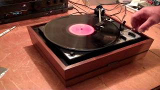 DUAL 1225 Turntable, Completely working. United Audio Plinth and Cover. ZCUCKOO