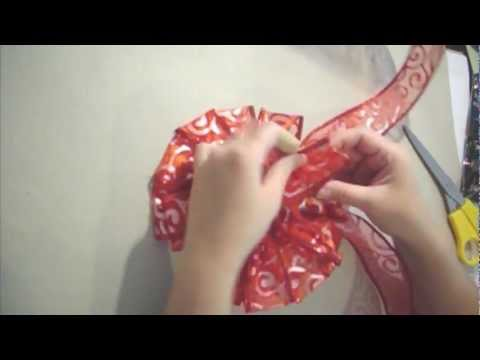 How To Make A Easy Ribbon Bow
