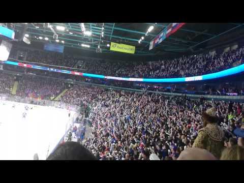 Невероятное зрелище!!! Трибуны хоккея!!!
