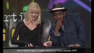 Merril Bainbridge & Coolio   American Music Awards 1997