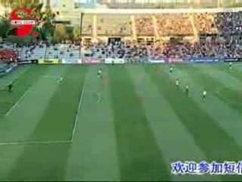 2007 AFCCL LNTS v AU: Li JinYu offside twice ? 2007 AFC Champions League group stage Shandong Luneng Taishan (China) v Adelaide United (Australia) 2007-03-07 Adelaide, Australia.