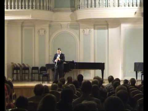 Franco Donatoni-Clair for Clarinet Solo
