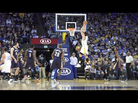 Warriors Lobs Over Pelicans