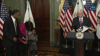 Swearing-in ceremony for Department of Housing and Urban Development Secretary Dr. Ben Carson