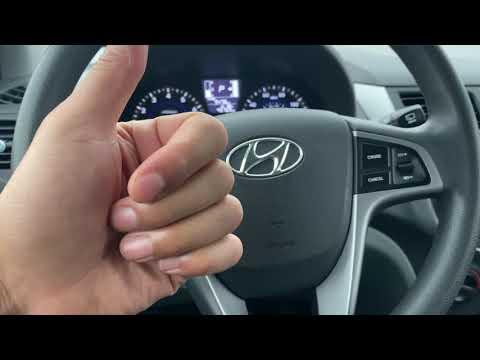 Hyundai Accent - Traction control button location