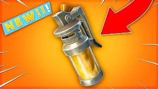"""*NEW* """"GAS GRENADE"""" GAMEPLAY    NEW STINK BOMB ITEM UPDATE! (Fortnite Battle Royale)"""