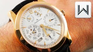 Jaeger LeCoultre Master Eight Day Perpetual Calendar (Q161242A) Luxury Watch Review