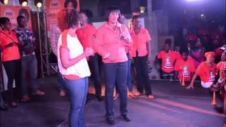Portia Simpson Miller Introduces Iamni Duncan Price To East Rural St Andrew