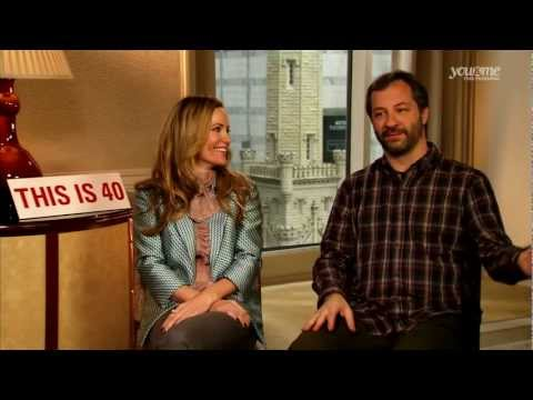 Judd Apatow and Leslie Mann talk This is 40