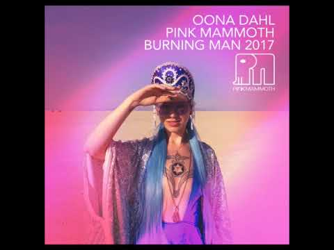 Öona Dahl - Pink Mammoth - Burning Man 2017