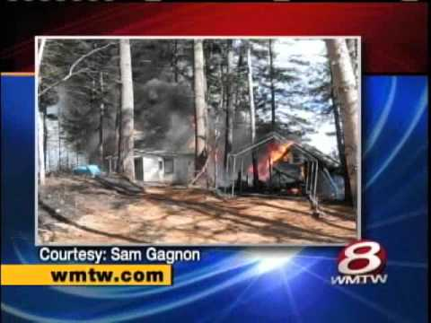 Fire In Acton Destroys Two Summer Homes And Shed