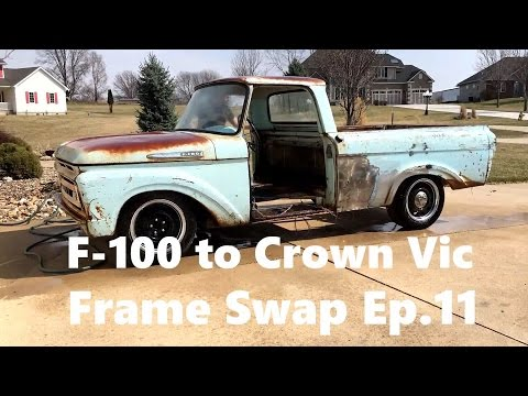 F100 to Crown Vic Frame Swap Ep. 11 Back at it! Interior Stuff and Whatnot