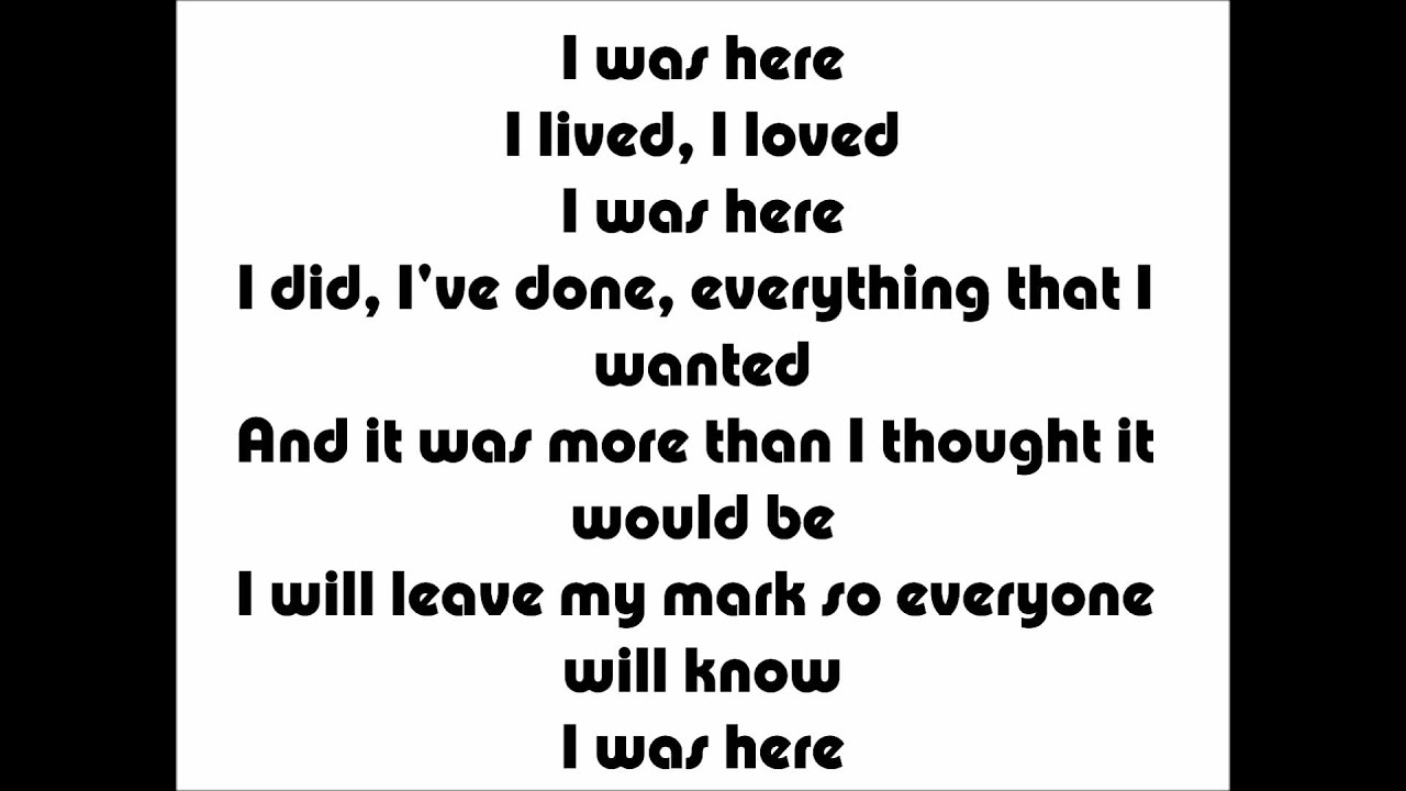Beyonce - I was here Karaoke/Instrumental + Lyrics - YouTube