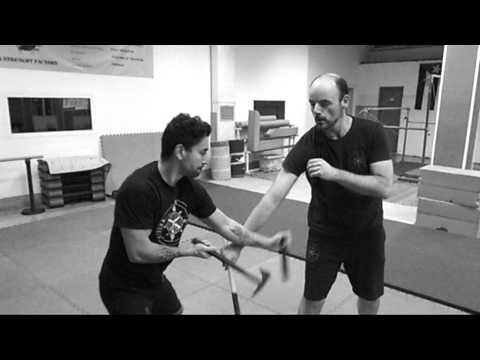 Kali Research Academy / Double Weapon Fighting (Knife and Tomahawk) Image 1