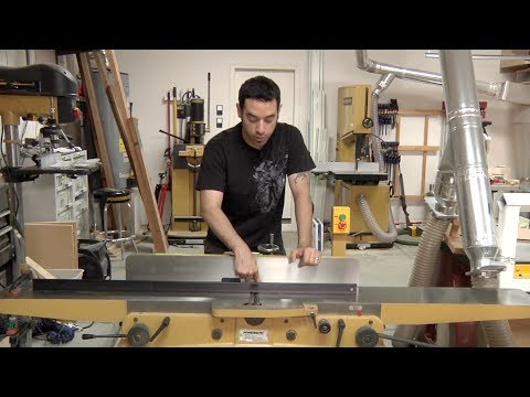 118 - Jointer Setup