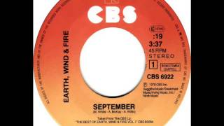 Earth Wind & Fire - September (Dj