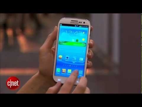Samsung Galaxy S III (S3) Quad-core drives galaxial screen - International CTIA WIRELESS 2012
