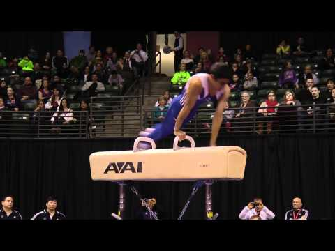 Akash Modi - Pommel Horse Finals - 2012 Kellogg&#039;s Pacific Rim Championships - 3rd