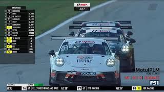 Porsche GT3 Cup Challenge USA 2018. Race 1 Road Atlanta. Last Laps