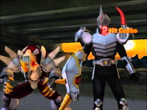 Kamen Rider Dragon Knight Wii Match - Spear (Wraith) vs. Thrust (Dirien)