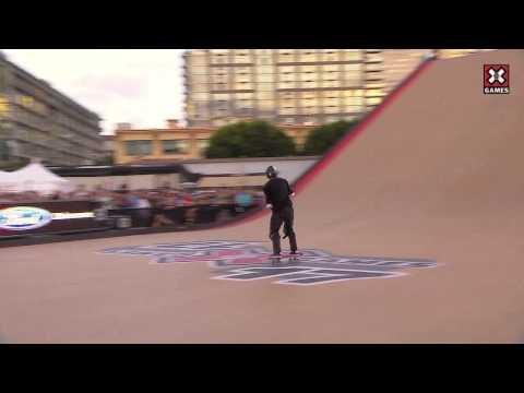 X Games 17: Edgard Pereira takes Bronze in Skateboard Big Air