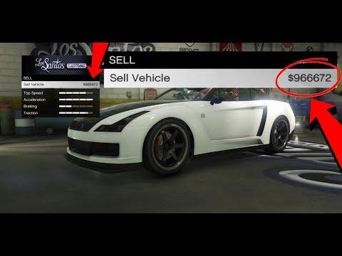 How To Sell Free Elegy For $950,000 In GTA 5 Online! (GTA 5 Online Money Glitch) 100% Legit 1.42