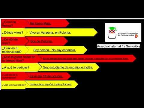 Język Hiszpański -  Najmłodsza Uczennica W Naszej Internetowej Szkole - MAJA :) #szybkoinatemat