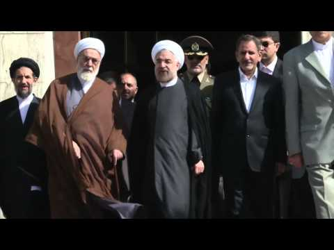 Iranian President Calls for More Dialogue Over Tehran's Nuclear Program