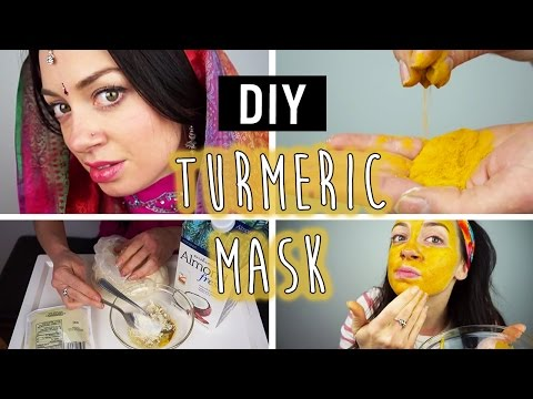 """DIY"" Turmeric Face Mask"