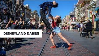 Disneyland Dares! | Sean And Kaycee X Jordan Matter - Kaycee Rice