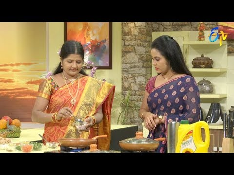 Telugu Ruchi | 3rd August 2018 | Full Episode | ETV Telugu