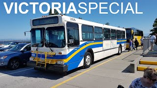 TransLink bus on BC Ferries?! - TRAMS 1991 New Flyer D40 No. 3106 goes to Victoria