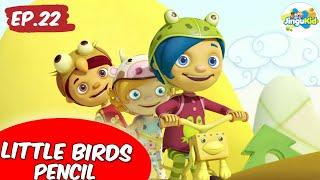 Van Dogh English | Little Birds Pencil | Preschool Learning Videos