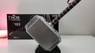 If He Be Worthy | MJOLNIR Electronic Hammer of THOR (Hasbro) Unboxing and Hands On!