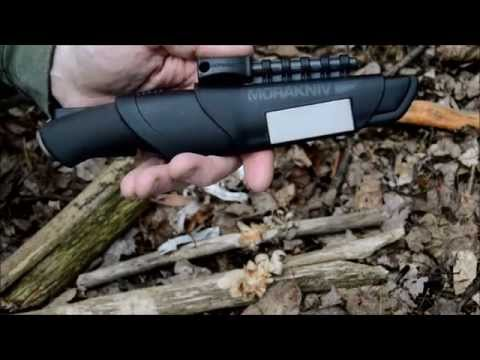 Mora Black Carbon Bushcraft Survival Knife