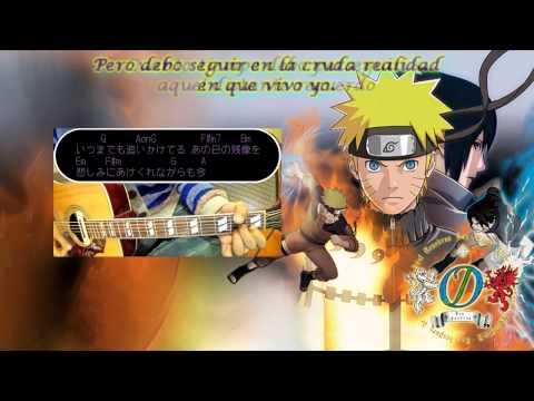 Moshimo Fandub Español Latino (guitar Cover) [ Naruto Shippuden Opening 12] video