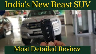 Ford Endeavour Facelift || 3.2 Titanium 4WD || Most Detailed Hindi Review