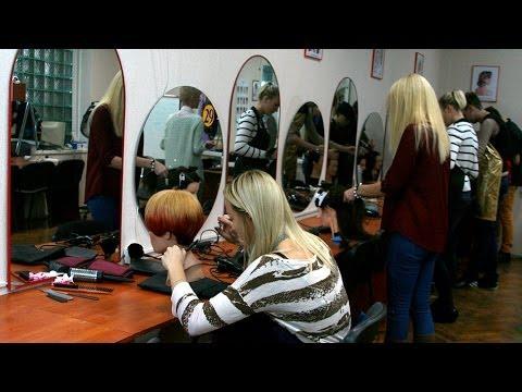Курсы парикмахеров - видео