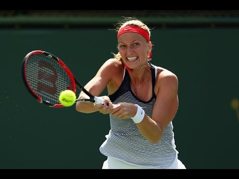 2016 BNP Paribas Open Third Round | Petra Kvitova vs Johanna Larsson | WTA Highlights