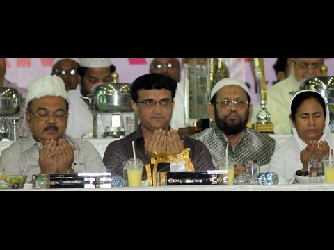 CM Mamata Banerjee and Sourav Ganguly brings an added charm in Mohammedan Sporting's 'Iftar' party