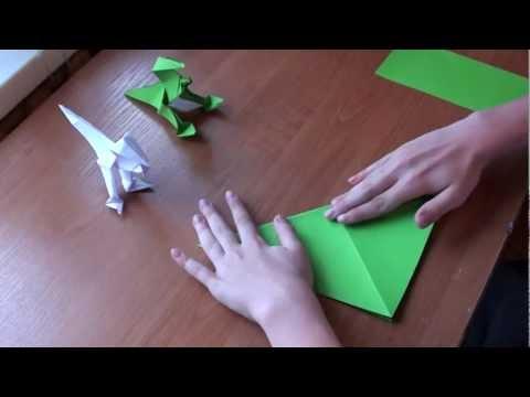 http://nashydetky.com Оригами Динозавр (видеоурок).mpg